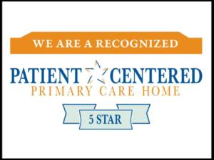 5 star award from PCPCH